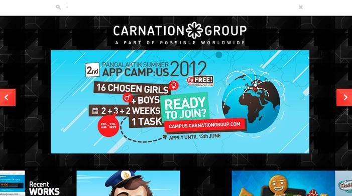 50 Best Websites They Winning CSS Awards In 2012