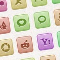 Post thumbnail of 110 Vector Social Media Icons – Freebie