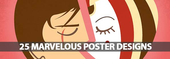 25 Marvelous Examples Of Poster Designs