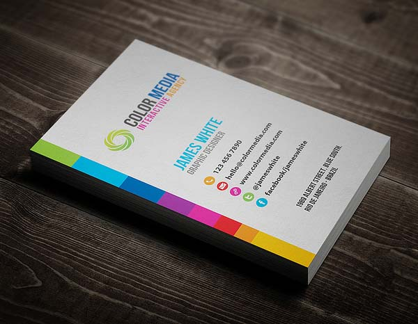 Color Business Card Desgin