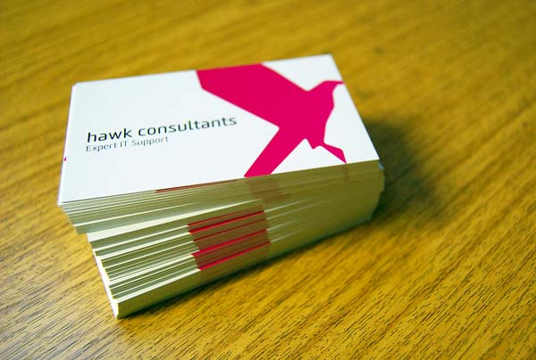 Hawk Consultants Business Card
