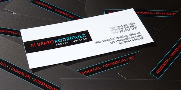 Strip Business Card Design