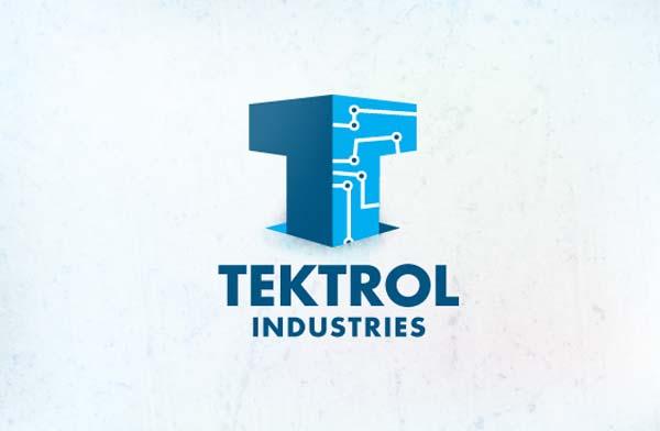 Tektrol industries logo design
