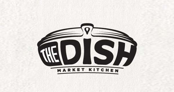 The Dish logo design