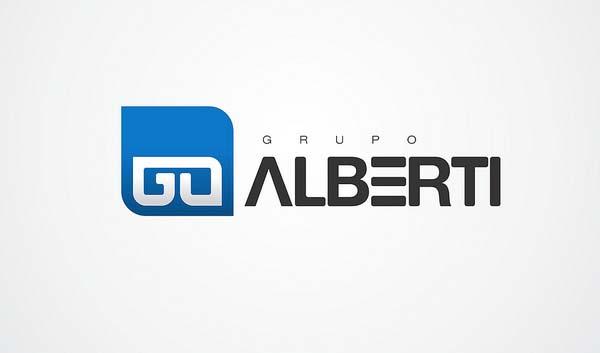 Grupo Alberti logo design