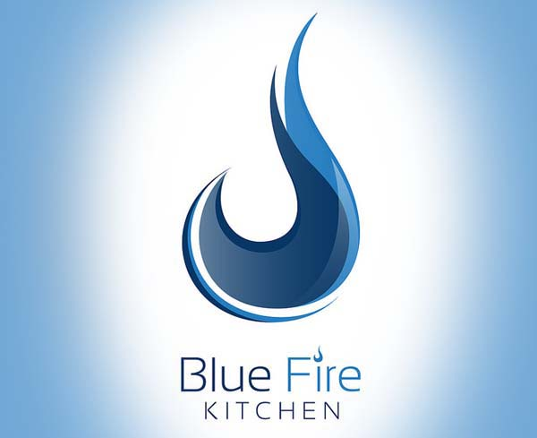 Blue Fire Kitchen logo