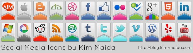Free Social Media Icons Set