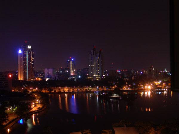 Colombo at night (Sri Lanka)
