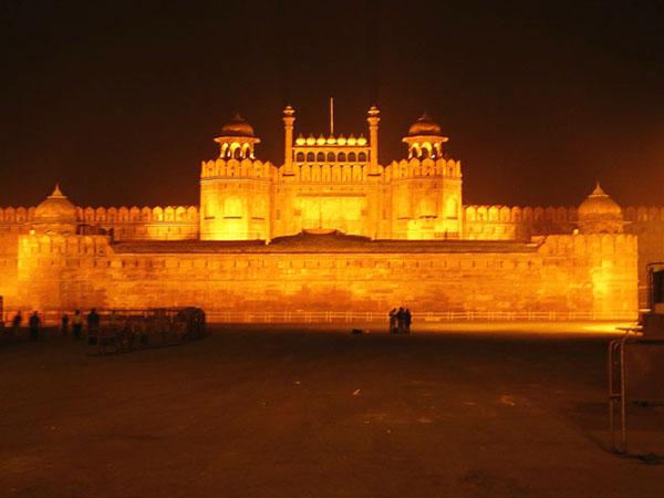 Delhi at night (India)