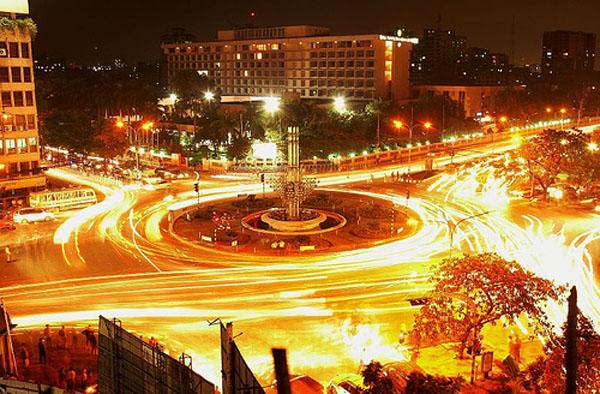 Dhaka at night (Bangadesh)