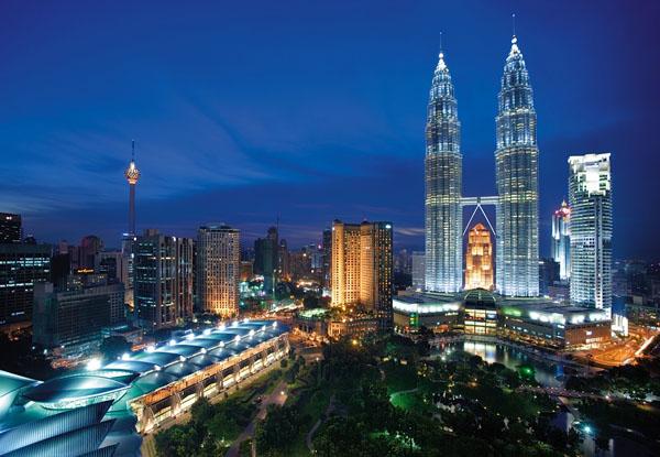 Kuala lumpur at night (Malaysia)