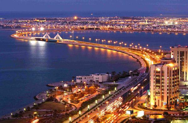 Manama at night (Bahrain)