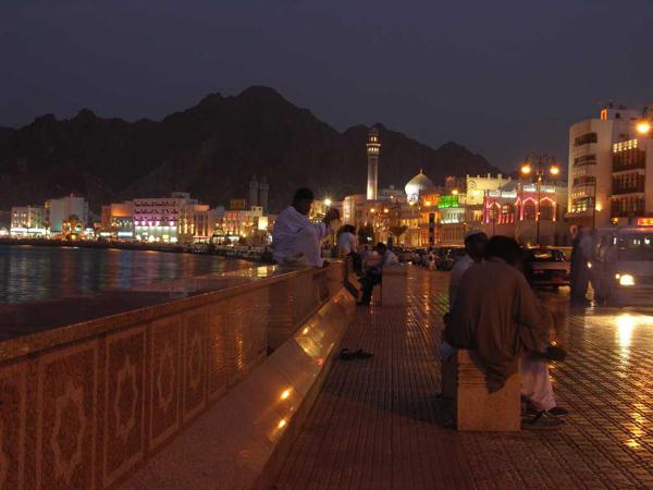 Muscat at night (Oman)