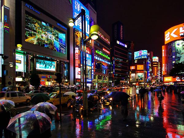 Tokyo at night (Japan)