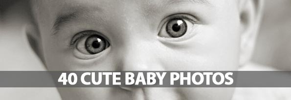 40 Cute Baby Photos That Will Put Smile On Your Face