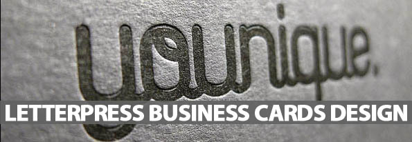 Beautiful Examples Of Letterpress Business Cards - Best Post Of 2012