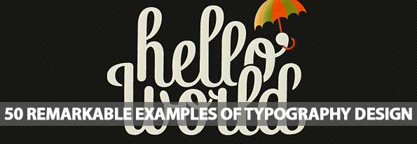 Remarkable Examples Of Typography Design - Best Post Of 2012