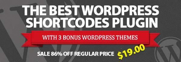 Lizatom WordPress Shortcodes Plugin From MightyDeals