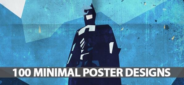 100 Minimal Poster Designs - Best Post Of 2012