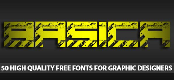 50 High Quality Free Fonts For Graphic Designers - Best Post Of 2012