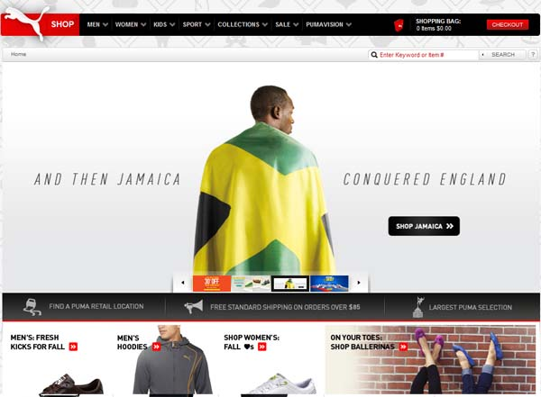 Inspiring Examples Of E-commerce Web Designs