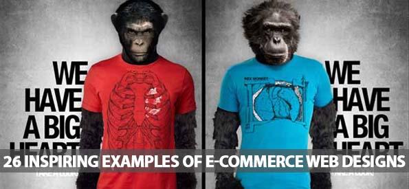 26 Inspiring Examples Of E-commerce Web Designs