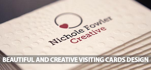 50+ Most Beautiful and Creative Visiting Cards Design