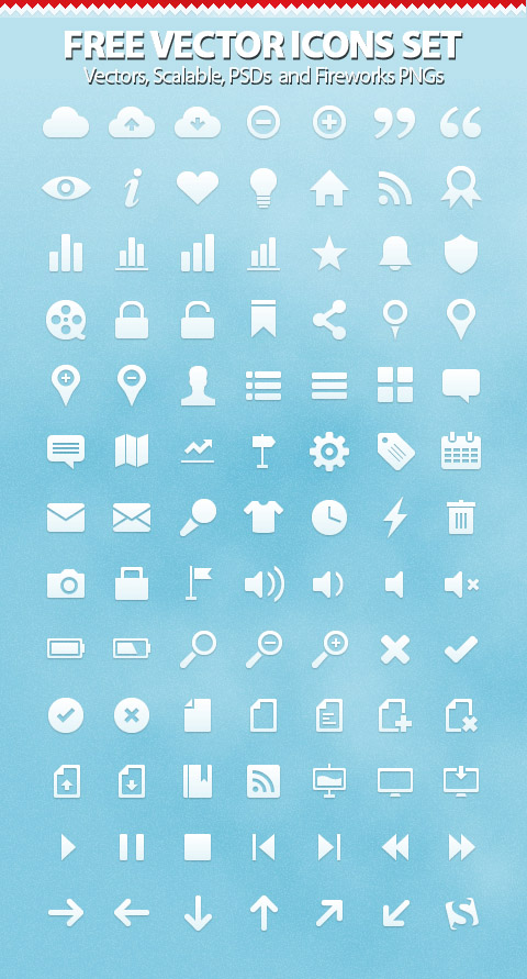 Free Vector Icons Pack 16