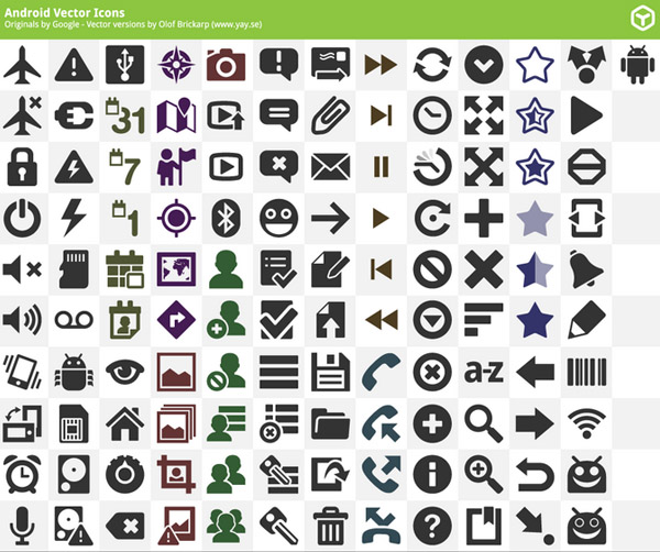 Free Vector Icons Pack 22
