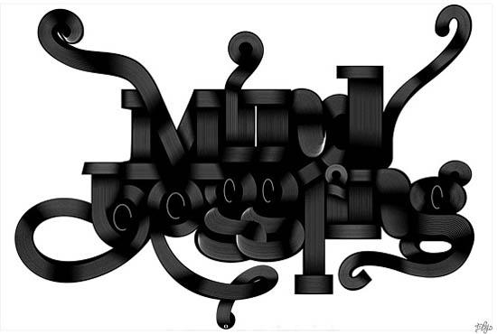 Remarkable Big Typography Design 19