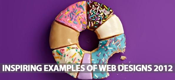 36 Inspiring Examples Of Web Designs 2012