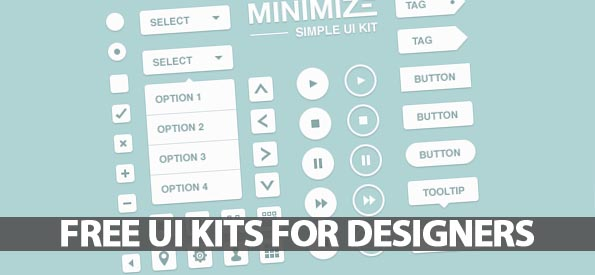 25 Free UI Kits For Web and Graphic Designers