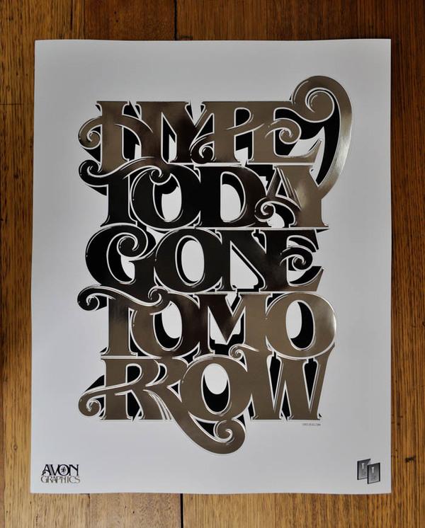 Typography Posters Design  12