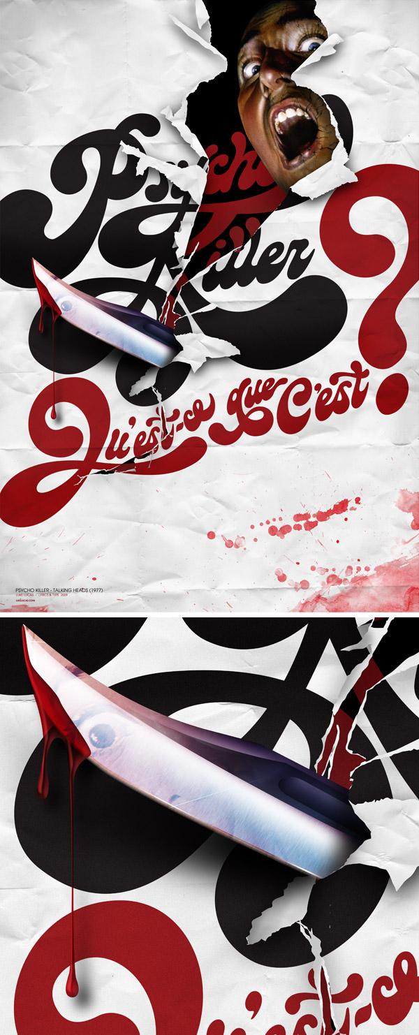 Typography Posters Design  18
