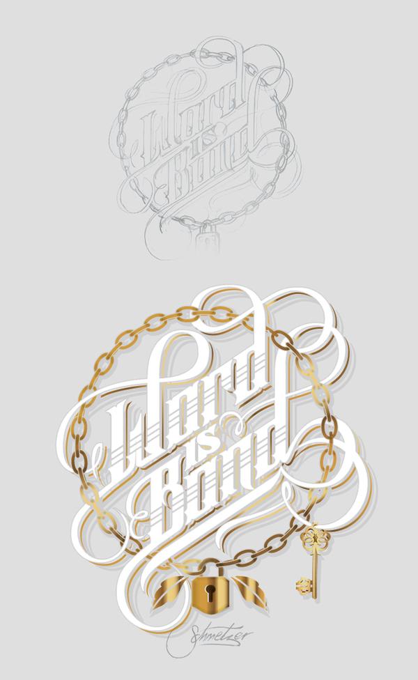 Typography Posters Design  36