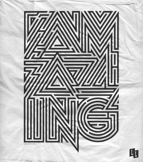 Typography Posters Design  9