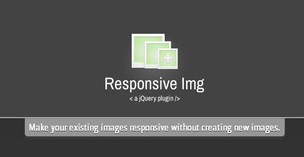 Responsive Img : A  jQuery + PHP for Responsive Images