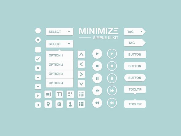 Best UI Kits of 2012 - 2