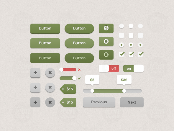 Best UI Kits of 2012 - 7