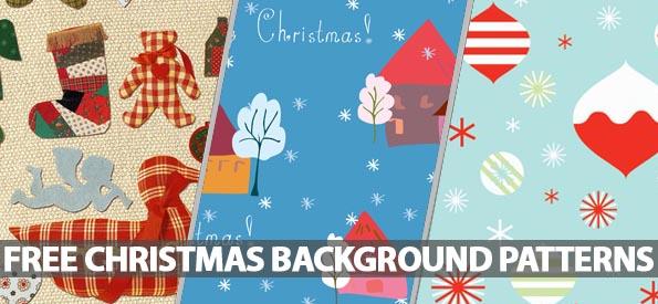 35 Free Christmas Photoshop Patterns