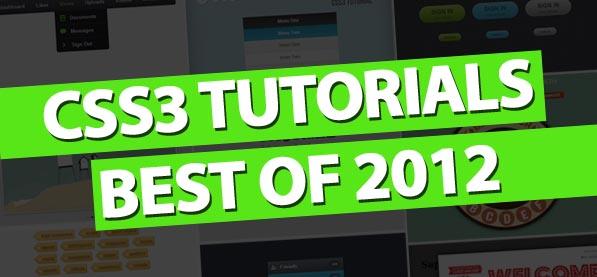 CSS3 Tutorials Best Of 2012