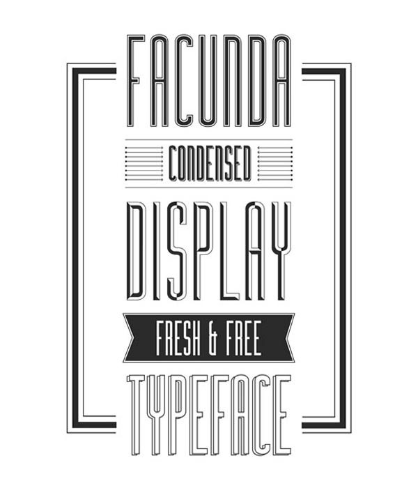 Free fonts for graphic designers - 12