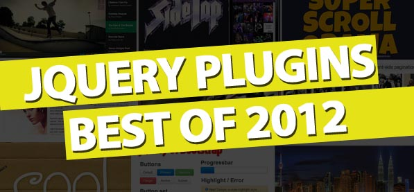 jQuery Plugins Best Of 2012