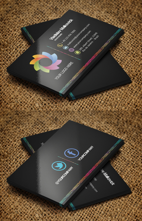 Modern Business Cards Design - 1