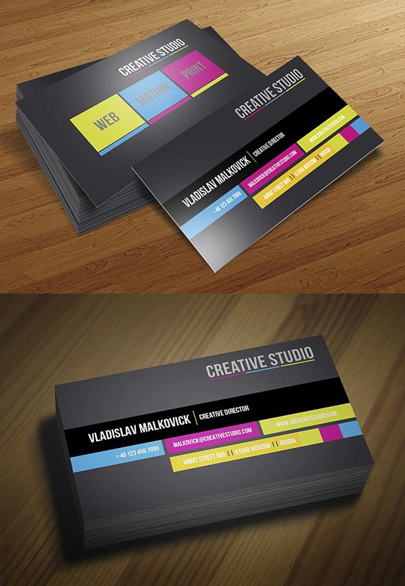 Modern Business Cards Design - 10