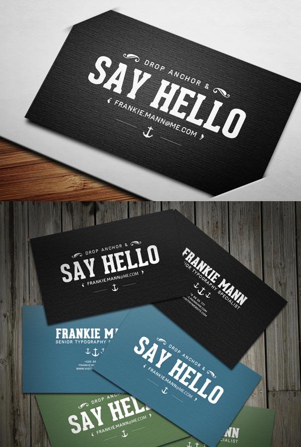 Modern Business Cards Design - 14