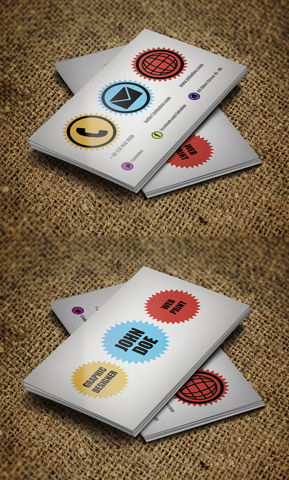 Modern Business Cards Design - 2