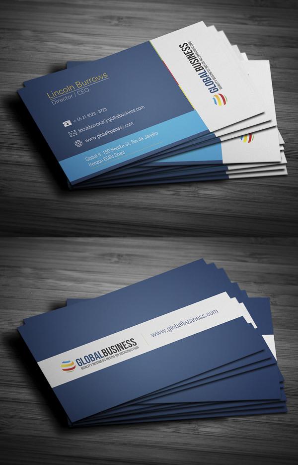 Modern Business Cards Design - 4