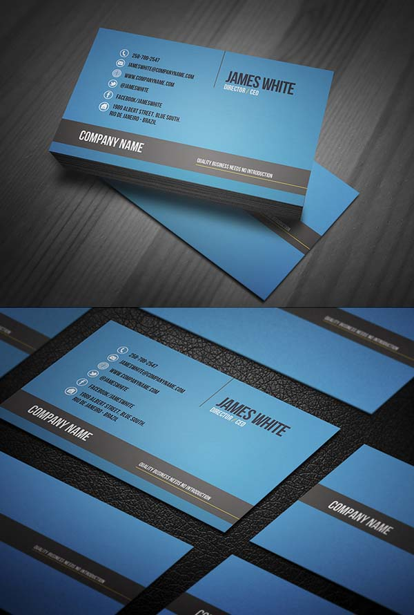 Modern Business Cards Design - 7