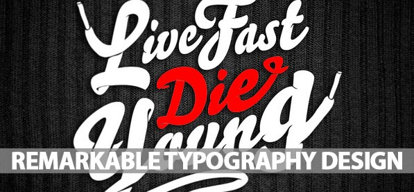 42 Remarkable Examples Of Typography Design